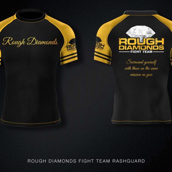 Rough Diamonds MMA Rashguard